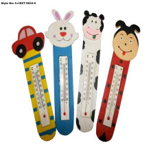 Souvenir Resin Cute Fridge Magnet with Thermometer Magnet