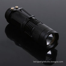 300lumen High Performance Brightest Cree Led Torch Lamp For Outdoor Activity