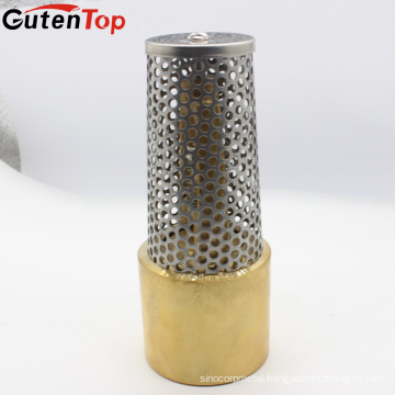 GUTENTOP 1 1/4'' Lead Free Brass Foot Valve With Stainless Steel Strainer