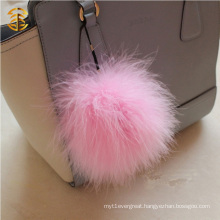 Hot Selling Turkey Feather Fur Balls With Different Size and Colour