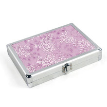 Aluminum Beauty Case Pink Tool Case (HX-W3638)