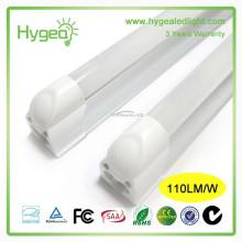 Chine fournisseurs IP44 conduit t8 tube lumière smd2835 18W hot jizz conduit tube à prix compétitif tube lumière