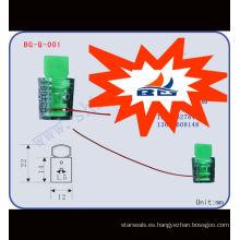 Sello de plástico del medidor de energía BG-Q-001