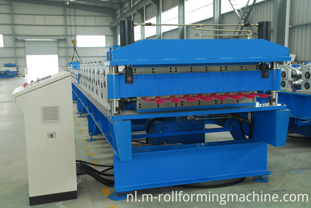 Steel structure machinery for double layer