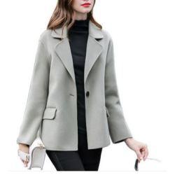Women's 50% Wool 50% Cashmere Coat