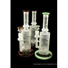 2020 Neueste Muster Glas Rauchwasserpfeife Bongs