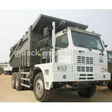 Camión volquete de HOWO 70t, camión volquete de la minería de China 70t para las ventas Camión volquete de la minería / del volquete de la minería 30ton, 50ton, 60ton, 70ton con un precio más bajo y una buena calidad