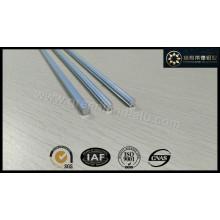 Haste de inclinação de alumínio anodizado cego vertical e perfil de eixo