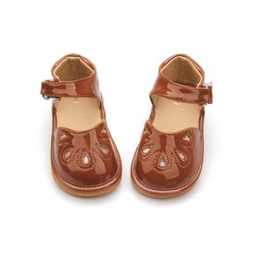 Grossist Baby Girl Shoes Skratta Skor