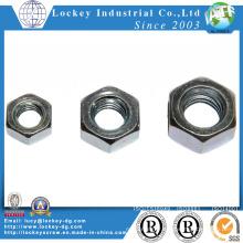 Acier hexagonale en acier au carbone en zinc plaqué