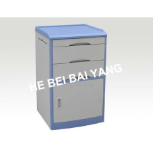 (C-102) ABS Bedside Cabinet with Blue Edge