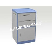 (C-102) Прикроватная тумба ABS с синим краем