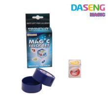 Truco de magia truco de lectura de mente para los niños juguetes de plástico mágico