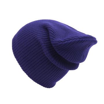 Factory Manufacturer Custom warm ski cap hat plain dyed beanie knit hat