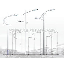 2015 Newly Designed street garden lighting model Die-casting Aluminum Alloy Solar Lights outdoor street light pole