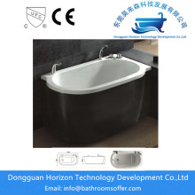 Hot sale for Double Apron Bathtub Whirlpool jetted bathtub jacuzzi bath export to India Exporter