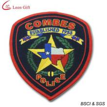 Hot Sale Embroidery Badge Police Embroidery Patches (LM1580)