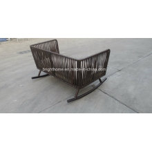 High Quality Rattan Wicker Salão ao ar livre Sun Lounge Beach Lounge