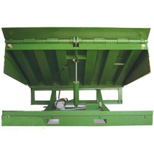 Container Loading Manual Stationary Truck Lift Platform