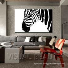 zebra wall decoration / Zebra Art Canvas Prints For Wall/ African Wildlife Digital Photography Zebra Decor
