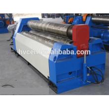 Máquina de laminação de folha de alumínio w12-12 * 2000 / rolos de chapa