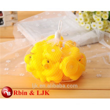 New Arrival Good Quality Small Baby Shower Yellow Plastic Duck Bath Toy
