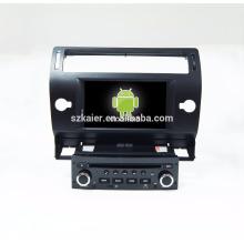 Ocho nucleos ! 7 '' Android 7.1 Coche DVD de navegación GPS para C4 / C-quatre / C-triunfo con Bt / Radio / Reproductor de música / GPS