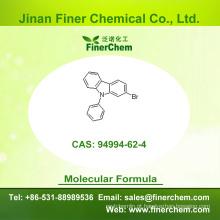 Cas 94994-62-4 | 2-Bromo-9-fenil-9H-carbazole | OLED intermediário | 94994-62-4 | preço de fábrica; Grande estoque