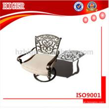 silla al aire libre, muebles de exterior, muebles de fundición