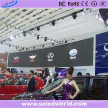 Panneau d'affichage électronique électronique d'intérieur fixe de P6 LED pour le salon de l'automobile