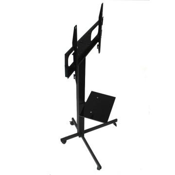 """Móvil y ajustable Heavy Duty móvil de hierro forjado TV Stand con montaje para 32 """"-70"""" pantallas"""