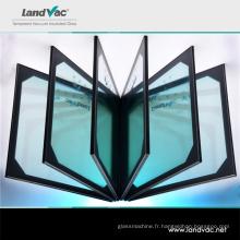 Verre à vide trempé léger de bâtiments verts de Landglass