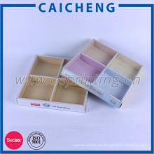 Kreatives Spielzeug-Papierkastenverpacken mit Papierteiler und PVC-Ärmel