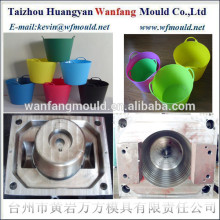 plastic flexible bucket injection mold made in China