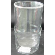 Double Wall Glass Cup para cerveja,