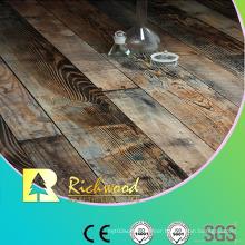 12.3mm E1 HDF AC3 Embossed Oak V-Grooved Laminate Flooring