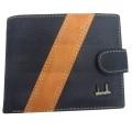 Случайные бумажник контраст цвет Сумочки для мужчин