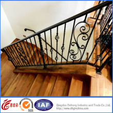 Black Stair Decorative Wrought Iron Fence