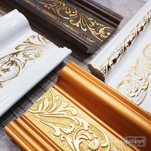 wholesale anti-moth ps decorative quarter round luxury moulding
