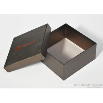 Cube Shape Luxury White Watch Boxes with Pillow Cushion Inside