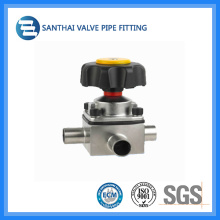 Stainless Steel Three-Way Welded Diaphragm Valves