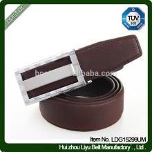 Hot Selling Male Real Leather Ceinture Factory Vente en gros / cintos de cuir en cuir pour homme