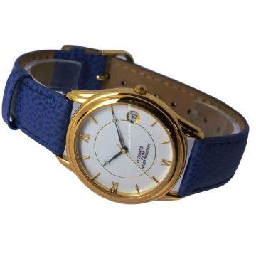 Meilleure qualité en cuir véritable alliage montre pour femmes 15121