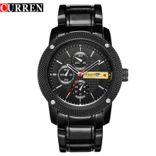 big face curren watch water resistant tested time pieces