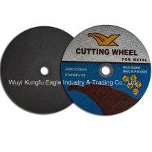 Disco de corte abrasivo de alta qualidade 230 * 2 * 22mm