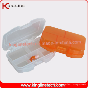 Plastic 5-Cases Pill Box Manufacturer (KL-9124)