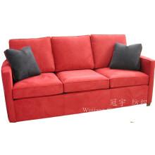 Tissu en cuir suédé superbe pour des couvertures de sofa de meubles