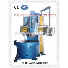 Вертикальный токарный станок с ЧПУ C5116 / CX5116 с синим цветом на складе в Китае