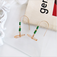 Simple and stylish earrings for irregular rock eardrop