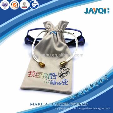 Pflanze Gläser Mikrofaser Tasche mit benutzerdefinierten Logo